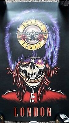 2x Guns And Roses Lithograph London 42 and 43 of 100