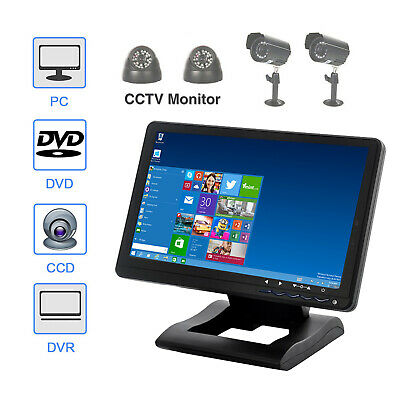 Touch Screen LCD Monitor 10 Inch Screen Display USB Monitor For Home CCTV Camera