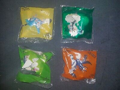 McDonalds Happy Meal Toy 2019 Pokemon F Set of 4 Toys + Cards