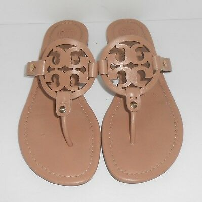 35e33d2c9a2c TORY BURCH MILLER Logo Leather Pink (Makeup) Size 8 -  148.00