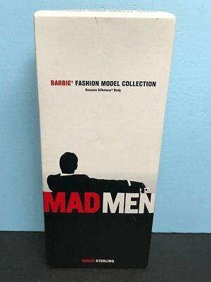 MAD MEN Roger Sterling Ken Barbie FC Exclusive  Gold Edition 2010 Silkstone Body