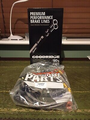 Goodridge Stainless Steel Braided Brake Lines Hoses Honda Prelude Gen 5 97-01