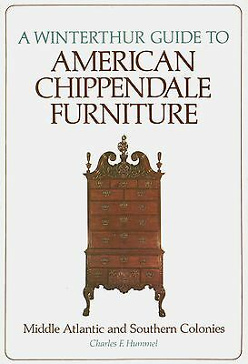 American Atlantic Southern Chippendale Furniture Makers / Illustrated Book