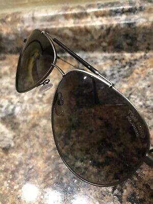 9b3e97f5f8c TOM FORD TF378 10D Sunglasses Gunmetal Black Frame Gray Lens 62-13 ...
