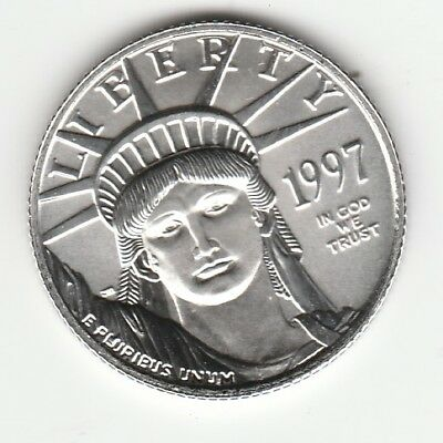 1997 Liberty 1/4 Oz. Platinum American Eagle