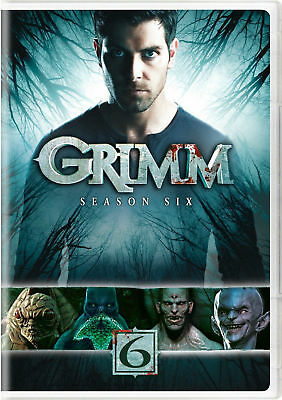 Grimm: Season 6 Six (DVD, 2017, 4-Disc Set) New Free Shipping Not Rated NEW