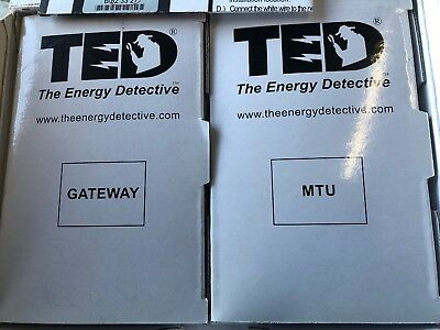 TED The Energy Detective | MTU and Gateway