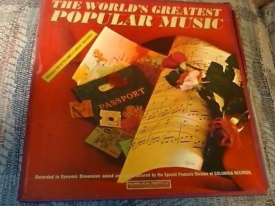 The World's Greatest Popular Music-SPS 301, Johnny Mathis-Heavenly & much more!!