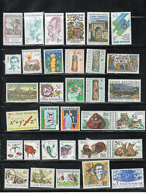 Czechoslovakia  Stamps Canceled Used & Mh Lot 39223