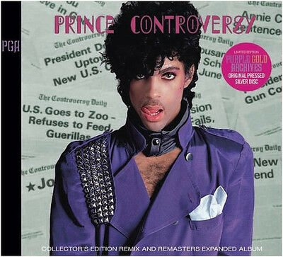 PRINCE - Controversy Remix and Remasters 2 CD COLLECTORS EDITION