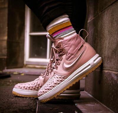 best website b3beb 001db Nike Lunar Force 1 Duckboot Women s Shoes Particle Pink Size 10 Style  AA0283 600