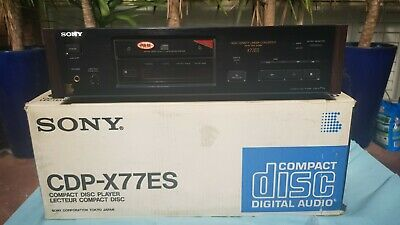 Sony CDP-X77ES Audiophile CD Player Mint Condition!!! With Original Box!!!