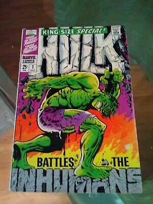 Incredible Hulk  # 1 1968 King-Size Special