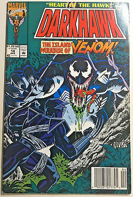 Bagged /& Boarded Darkhawk #16 1992 Marvel Comics NM 9.4