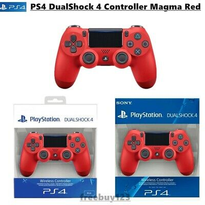 PS4 DualShock 4 Controller Magma Red V2 BRAND NEW SEALED OFFICIAL PAL Original