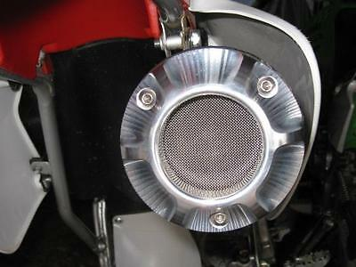 HONDA 3D CNC BILLET EXHAUST TIP XR250 XR 250 XR250R with SPARK ARRESTOR SCREEN