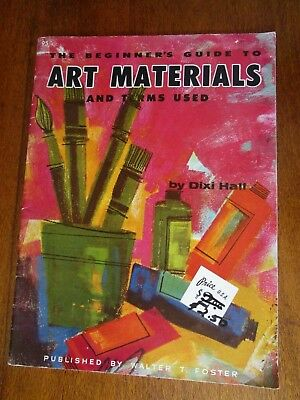 The Beginners Guide To Art Materials & Terms Used By Dixi Hall