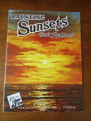 Painting Sunsets By Violet Parkhurst.