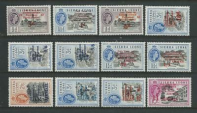 Sierra Leone SG257-268 1963 2nd Anniversary of Independence Unhinged Mint