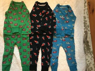 Next Boys 12-18 Months Pyjamas Set Of 3