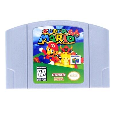 For Nintendo 64 Super Mario 64  Video Game Cartridge Ship from New York