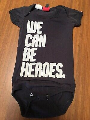 Rock Your Baby We Can Be Heroes Suit 00 6 Months RYB