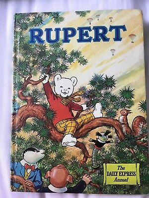 Vintage Rupert Bear Annual 1973 Unclipped