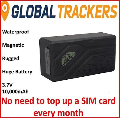 Cyberspy TT Rugged Magnetic Waterproof Trailer Tracker Big Battery Life 10000mAh