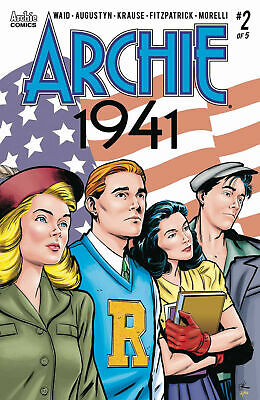 Archie 1941 #2 Archie Comics  Cover A Krause 1St Print