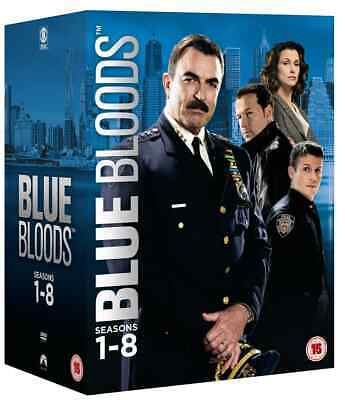 Blue Bloods Tom Selleck Season 1-8 Collection Dvd Box Set 48 Disc R4 New&sealed