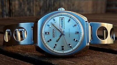 *dogma* 'moby-Dick' Watch Diving Super-Compressor Diver Automatic Vintage 1970