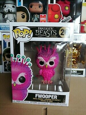 Fantastic Beasts The Crimes Grindelwald Fwooper Funko POP! Small Box Damage
