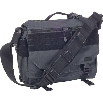 (One Size, Double Tap) - 5.11 Rush Delivery Mike Security Messenger Padded