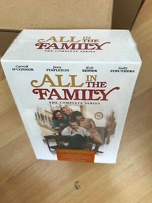 All in the Family: The Complete Series season 1 - 9 (DVD, 2012, 28-Disc box Set)