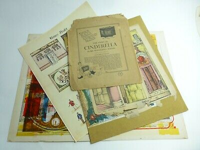 Job Lot of Various Prints etc Toy Theatre Interest John Blundall Collection p525