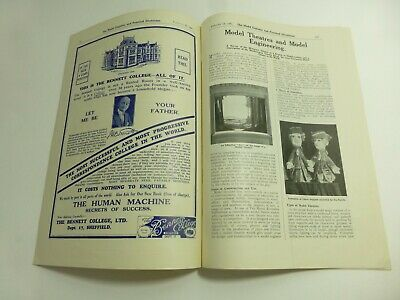 Model Theatres & Model Engineering Booklet 1931 John Blundall Collection p530