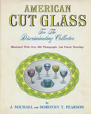 American Cut Glass - Makers Patterns Patents Etc / Scarce Book (600+ Photos)