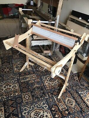 Old Guys Hand Made Rigid Heddle Loom And Stand
