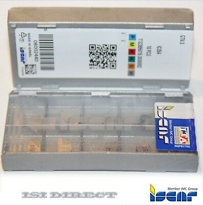 GFN 3J IC354 ISCAR *** 10 INSERTS *** FACTORY PACK ***