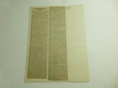 Various Paper Clippings Toy Theatre 1920/30s John Blundall Collection p539