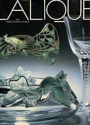 Lalique Art Glass Jewelry Perfume Bottles Paperweights…./ Rare Book 635 pages!