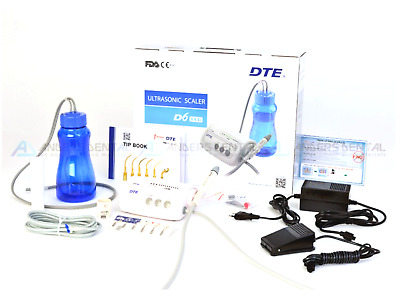 Woodpecker DTE Ultrasonic Scaler D6 LED Water Supply ORIGINAL + TIPS