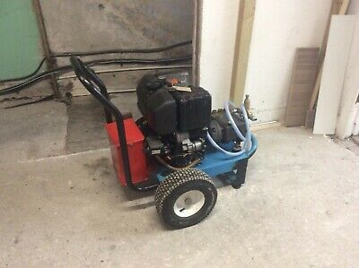 Diesel pressure washer lombardini electric start top quality Interpump