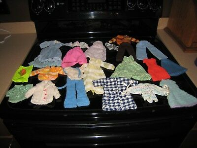 Vintage Collection Of Handmade Barbie Fashion Clothes!!!