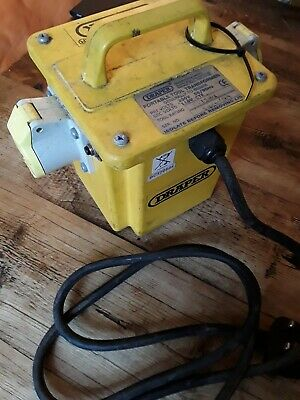 Draper 31262 1kVA 230V to 110V Portable Site Transformer