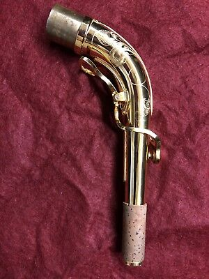 Yanagisawa Alto Saxophone Neck Gold Plate in mint condition
