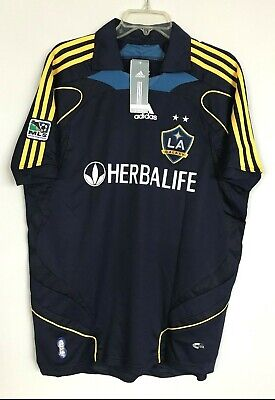e483913e250 Adidas MLS LA Galaxy David Beckham ClimaCool Soccer Jersey NEW MENS X Large