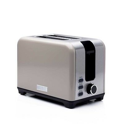 Haden Putty Grey 2 Slice Toaster