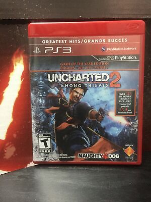 Playstation 3 Uncharted 2 Among Thieves Video Game PS3