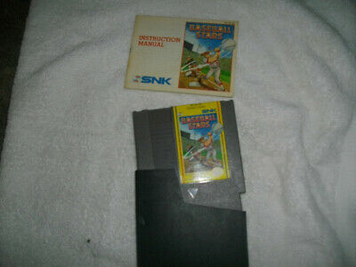 Nintendo NES Baseball Stars NES  + Sleeve & MANUAL